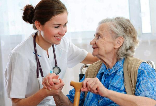 The home nursing service