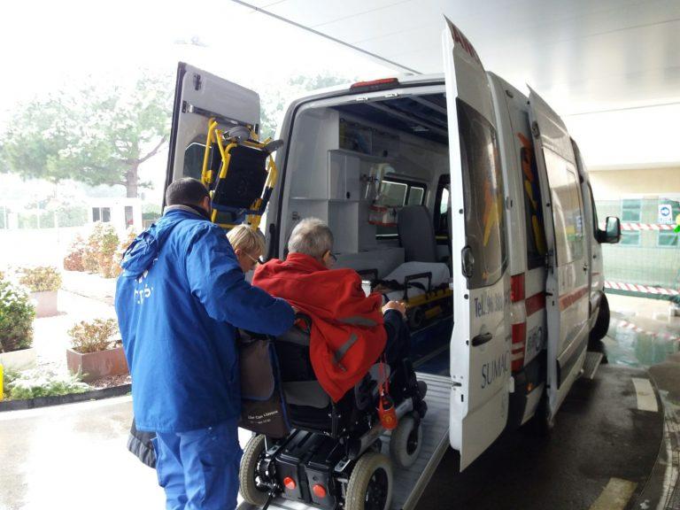 Ambulances for transfers