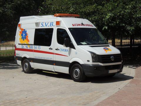 Ambulancia SVB – Soporte Vital Básico