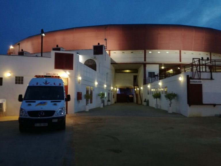 Ambulances for bullfighting events